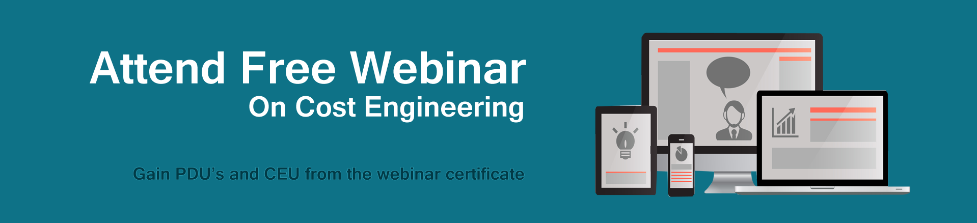 Image featuring Free Webinar on Cost Engineering (part of Certified Cost Professional, i.e. CCP exam)